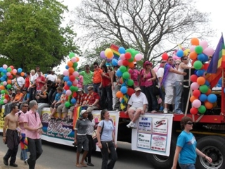 LGBT Pride float 2009